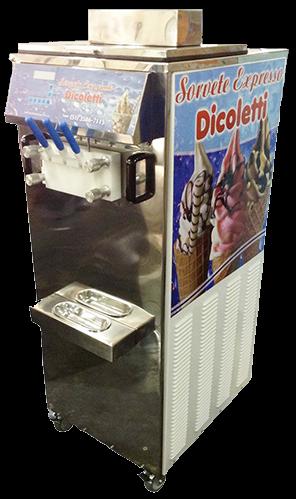 Máquina de Sorvete Expresso Dicolett